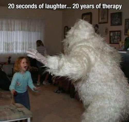 costume yeti halloween parenting The Abominable Snowman