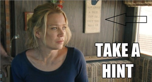 shut up take a hint andrea The Walking Dead - 7866609664