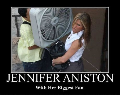wtf jennifer aniston fan funny