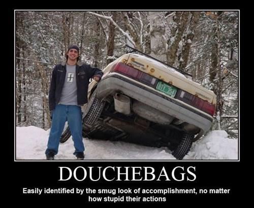 car wreck douchebags idiots funny - 7866650624