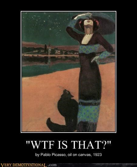 wtf painting funny picasso - 7866663168