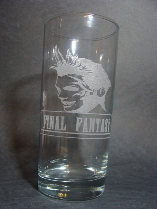 final fantasy pint glass video games funny zell - 7866781696