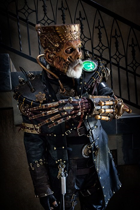 cosplay Steampunk halloween frankenstein - 7866790144
