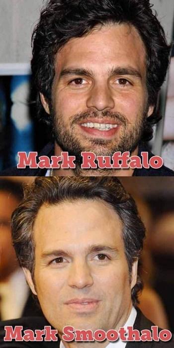 mark ruffalo shave pun avengers - 7866838528