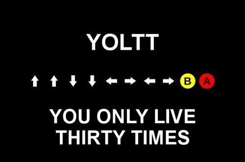 screw yolo gamers yoltt konami code