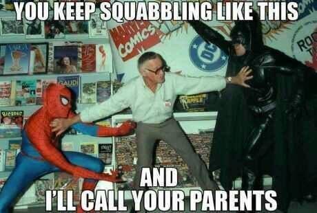 batman Spider-Man stan lee - 7866869760