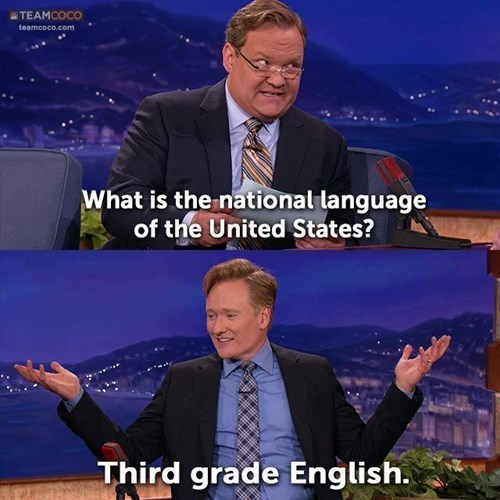 languages,conan obrien