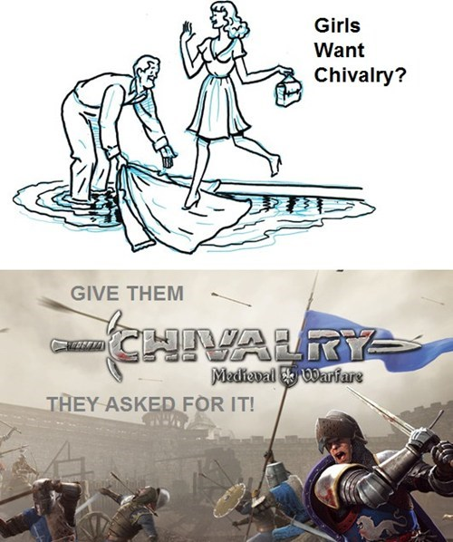 manners,chivalry,video games