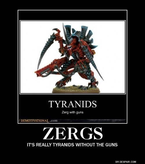 warhammer,video games,funny,tyranids,Zerg