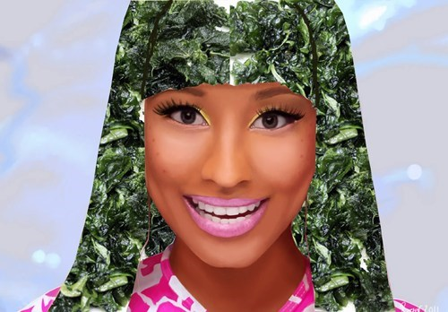 Music puns nicki minaj food hairstyles - 7867147776