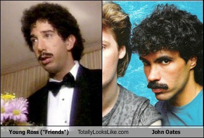 ross friends totally looks like john oates funny - 7867279360
