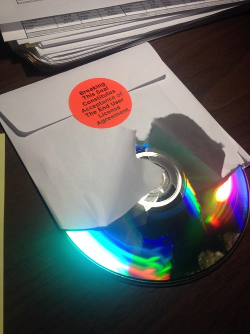 first world anarchists,CD,rebel,funny,EULA