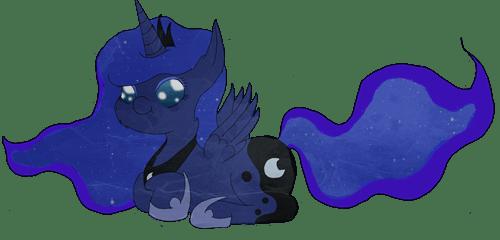 nightmare moon Fan Art luna squee - 7867546624