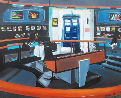crossover doctor who Star Trek - 7867979008