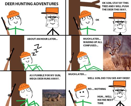 parenting,hunting
