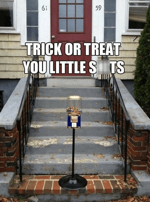 Spooky FAILs and HalloWINs trick or treat g rated hallowmeme - 7868121344