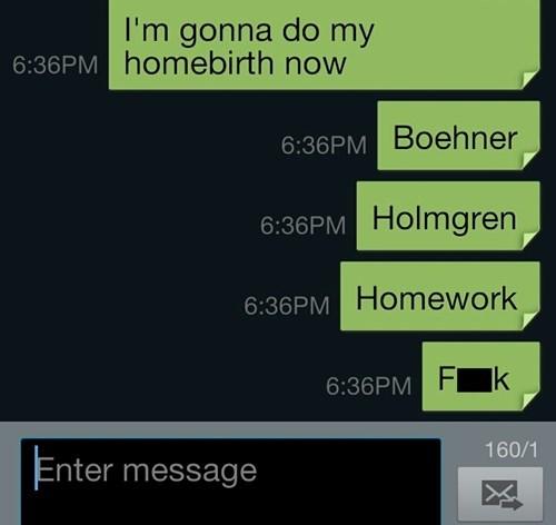 homework autocorrect boehner text AutocoWrecks - 7868147968