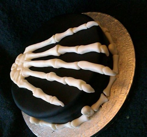 cake,skeleton,hands,g rated