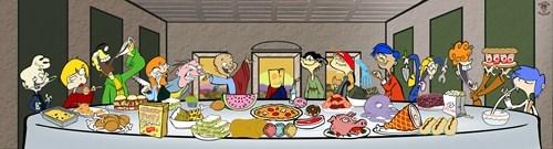last supper ed cartoons edd n eddy - 7868416256