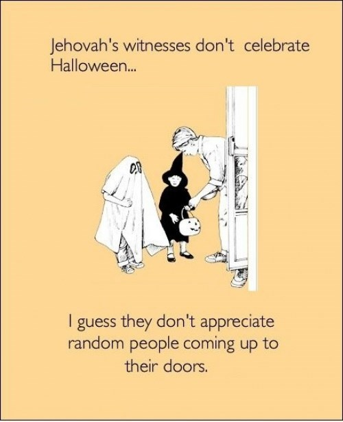 candy halloween jehovahs witnesses