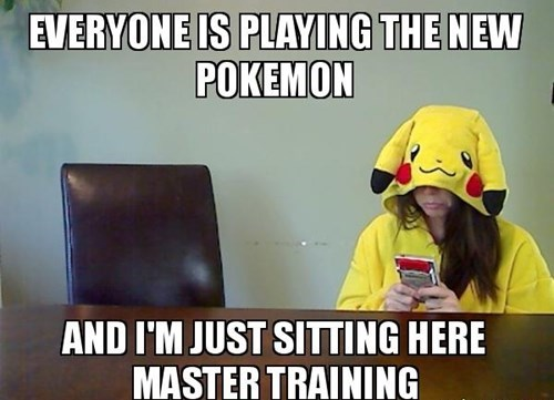 Pokémon gamers training - 7868440576