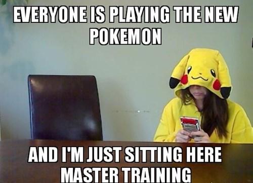 Pokémon gamers training - 7868440576