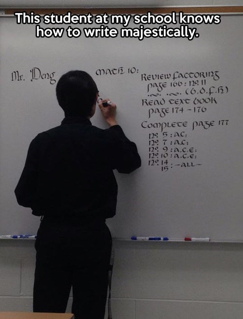 school handwriting - 7868574464