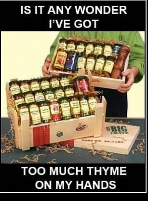 puns spices thyme - 7868615936