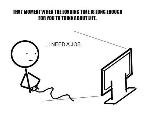 jobs,loading times,video games