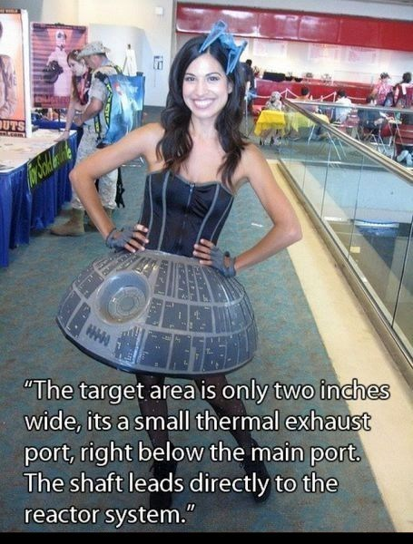 cosplay Death Star that sounds naughty - 7868634112
