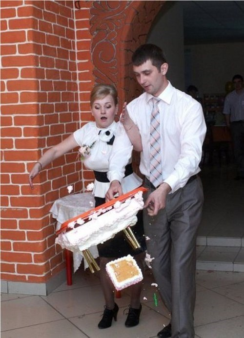 cake whoops wedding funny - 7869069056