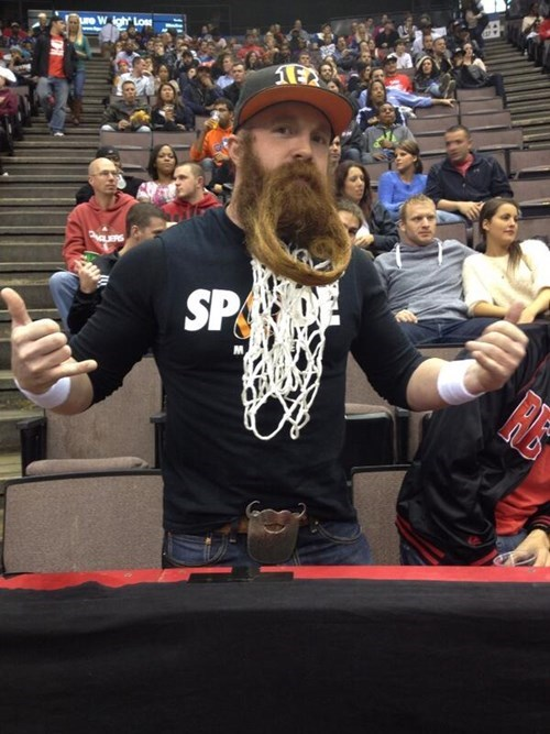sports facial hair basketball manly beards funny - 7869078016