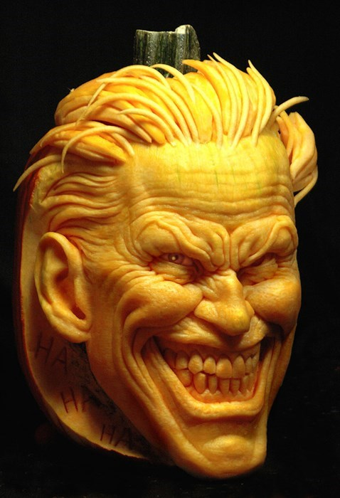 joker pumpkins halloween superheroes batman funny - 7869080320