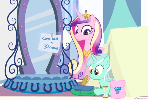 princess cadence lyra heartstrings the waiting is the hardest part - 7869383168