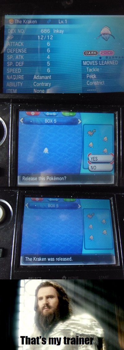 kraken Pokémon inkay - 7869550080