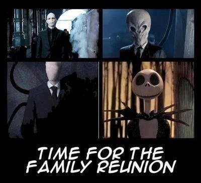 slender man Harry Potter halloween the nightmare before christmas doctor who - 7869571328