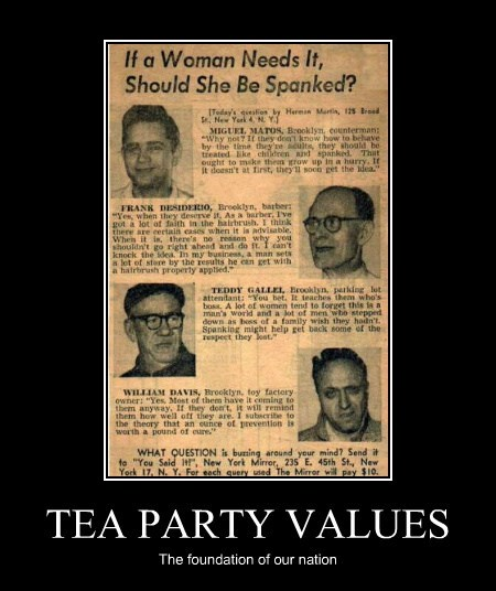 TEA PARTY VALUES The foundation of our nation