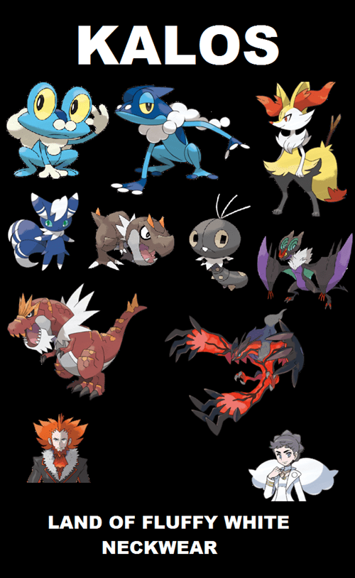 Pokémon neckwear kalos - 7869654016
