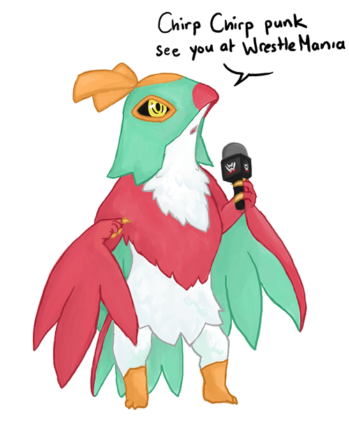 Pokémon hawlucha - 7869694208