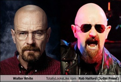 walter white,rob halford,totally looks like,funny