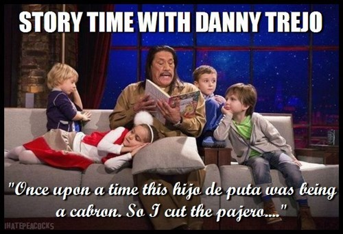 for the kids storytime Danny Trejo - 7869912064