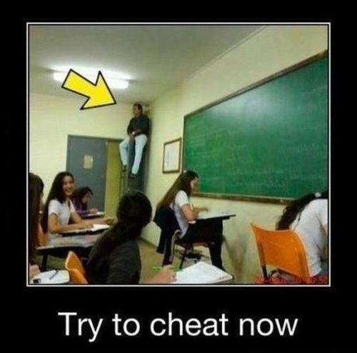 teachers cheat eagle eye funny