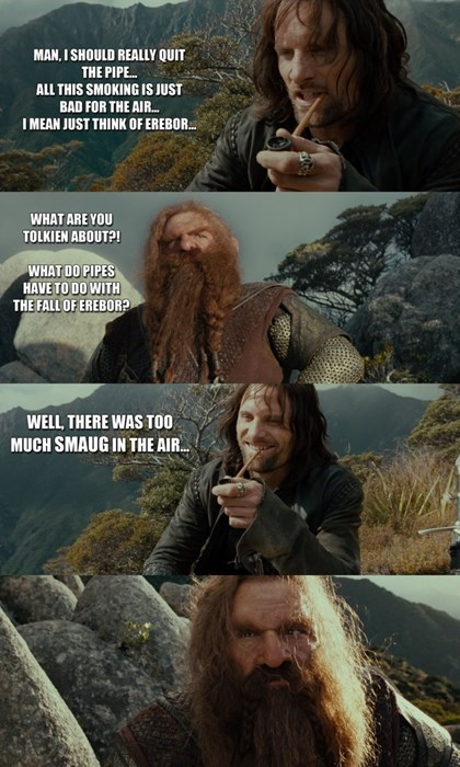 Lord of the Rings The Hobbit aragorn gimli - 7869926912