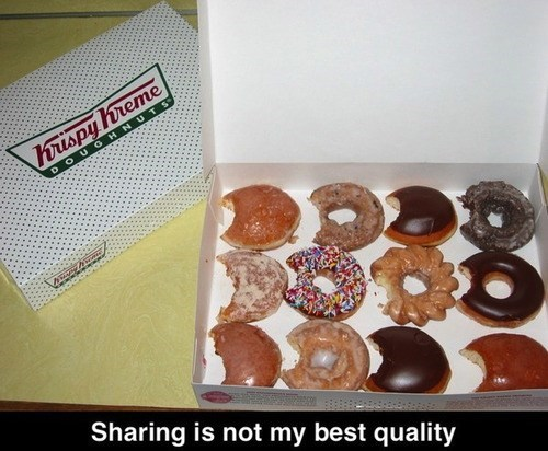 krispykreme,donuts,sharing
