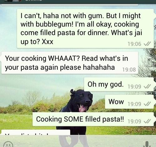 autocorrect,text,pasta