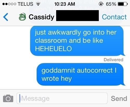 autocorrect,greetings,text