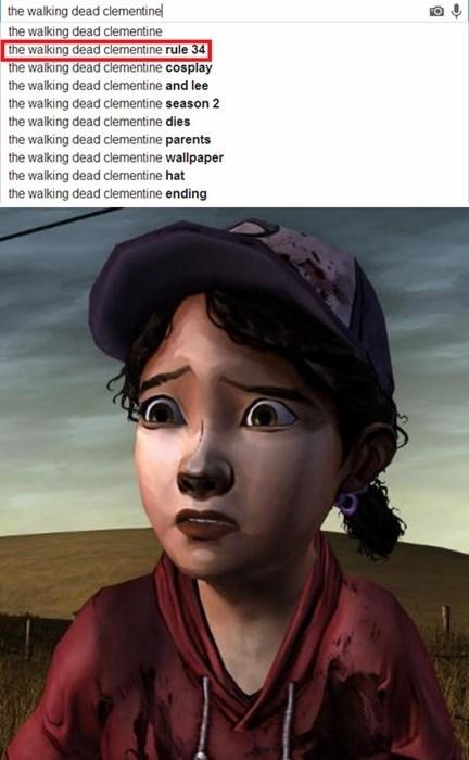 telltale games Rule 34 clementine The Walking Dead - 7870022656