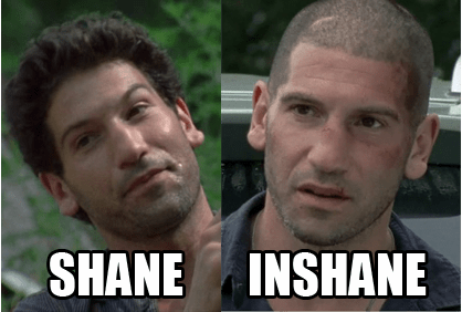 shane,new haircut,The Walking Dead
