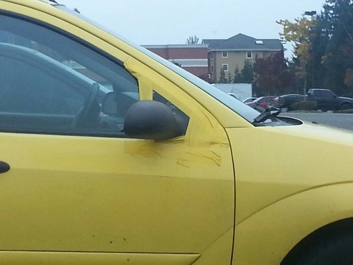 side mirror cars duct tape there I fixed it - 7870176256