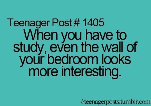 studying,boring,funny